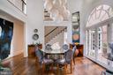Octagonal Formal Dining Room - 3218 VOLTA PL NW, WASHINGTON