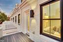 Master Suite Balcony - 1634 ARGONNE PL NW, WASHINGTON