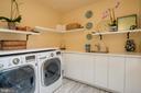 Upper Level Laundry with Skylight - 3218 VOLTA PL NW, WASHINGTON