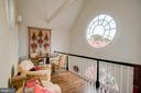 Owner's Sitting Room with 5' Oculus Window - 3218 VOLTA PL NW, WASHINGTON