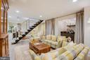 Family Room with Wet Bar - 3218 VOLTA PL NW, WASHINGTON