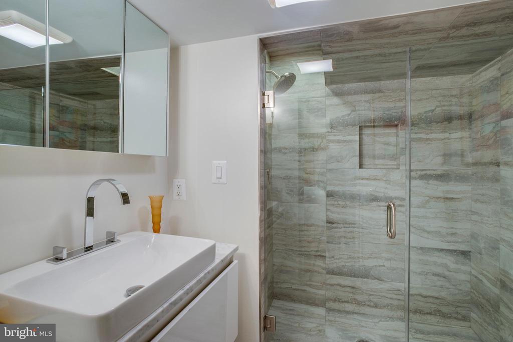Full Bathroom 4 with Radiant Heat Flooring - 3218 VOLTA PL NW, WASHINGTON