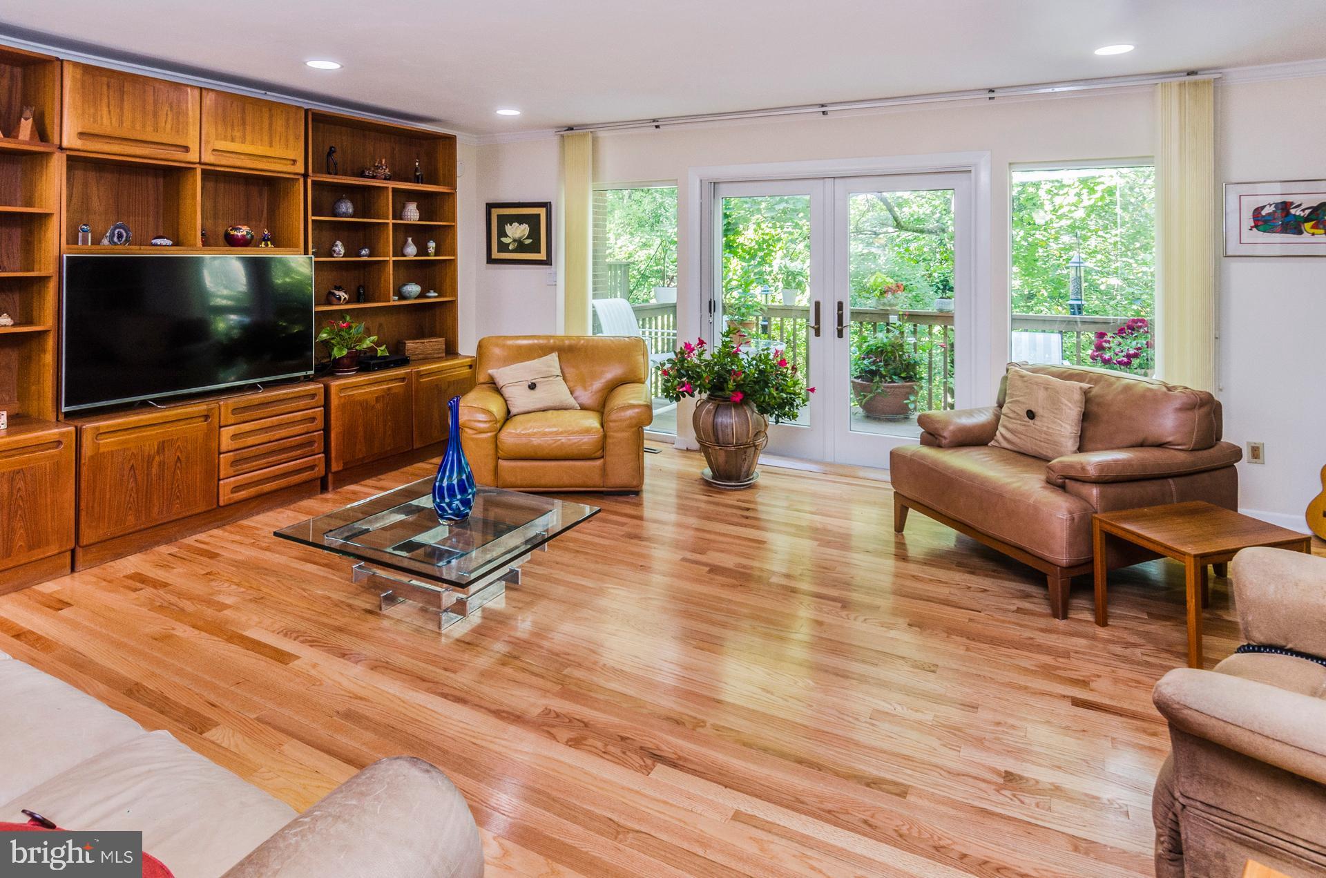 Living Room Expanse of Windows