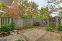 Private Patio - 2877 S ABINGDON ST, ARLINGTON