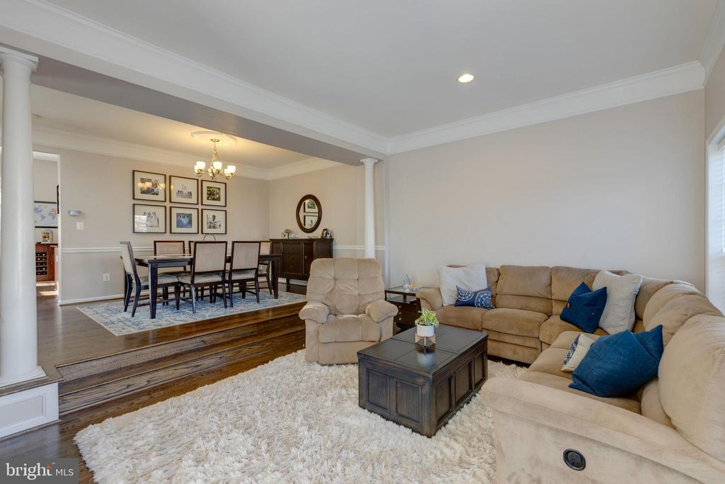 Large Formal Living/Dining Room - 25153 SODALITE SQ, ALDIE