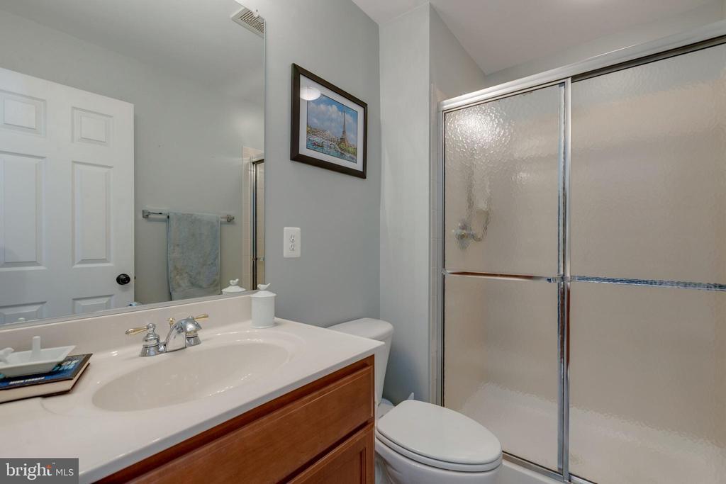 Lower level Full Bath - 25153 SODALITE SQ, ALDIE