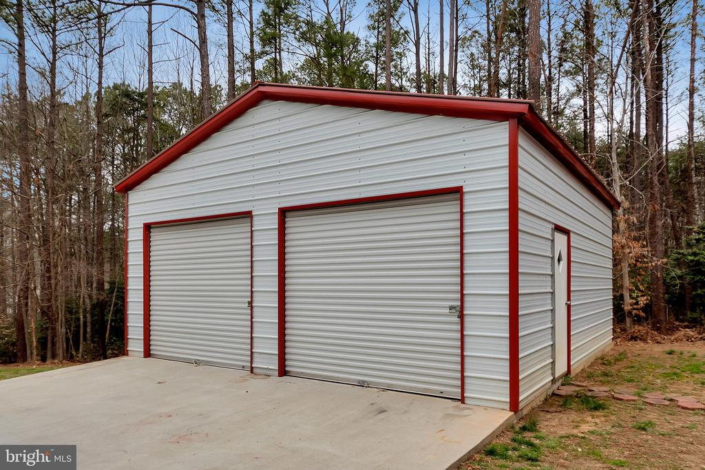 24X26 detached garage! - 160 LONGWOOD DR, STAFFORD