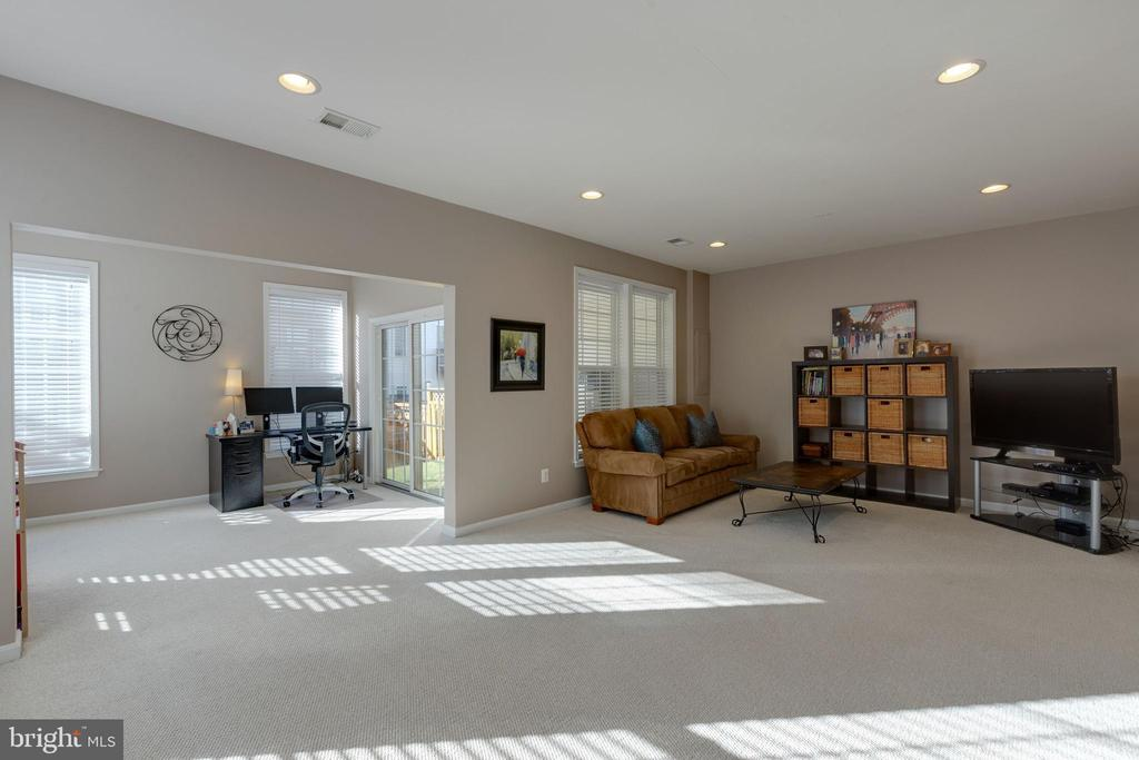 Large Open Rec room for your enjoyment - 25153 SODALITE SQ, ALDIE