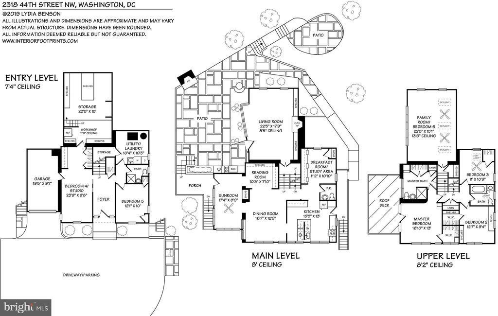 Floor Plan 2318 44th St NW - 2318 44TH ST NW, WASHINGTON