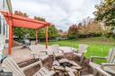 Fire Pit - 21824 AINSLEY CT, BROADLANDS