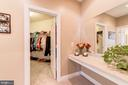 Master Dressing Area - 21824 AINSLEY CT, BROADLANDS