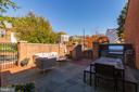 Private Patio with Outdoor Kitchen - 3300 Q ST NW, WASHINGTON
