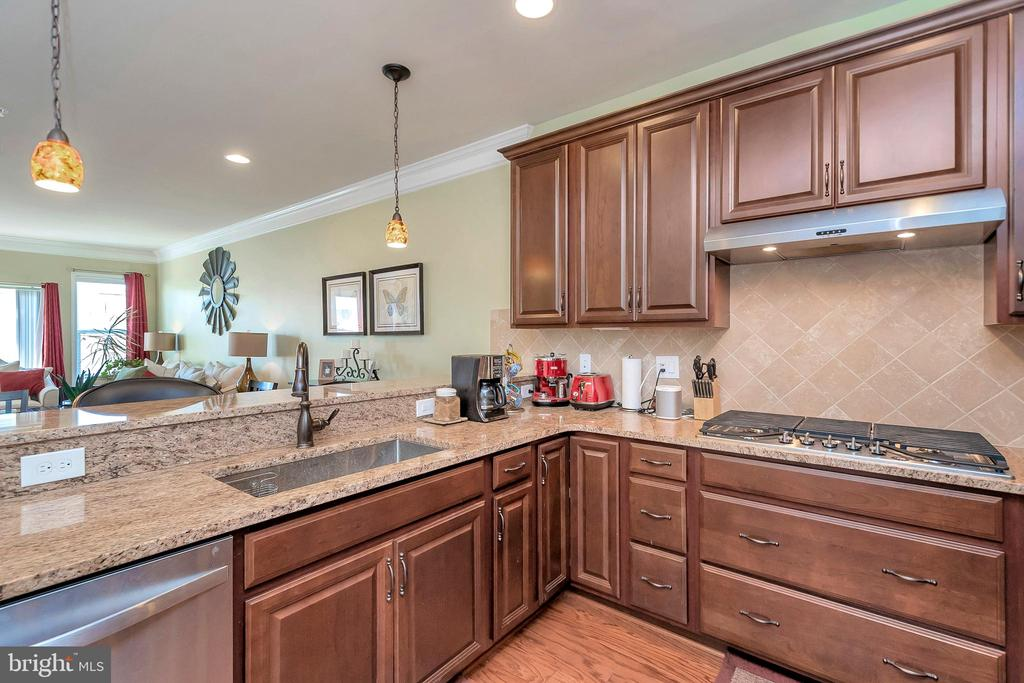 Kitchen with Granite Counter Tops - 180 LONG POINT DR, FREDERICKSBURG