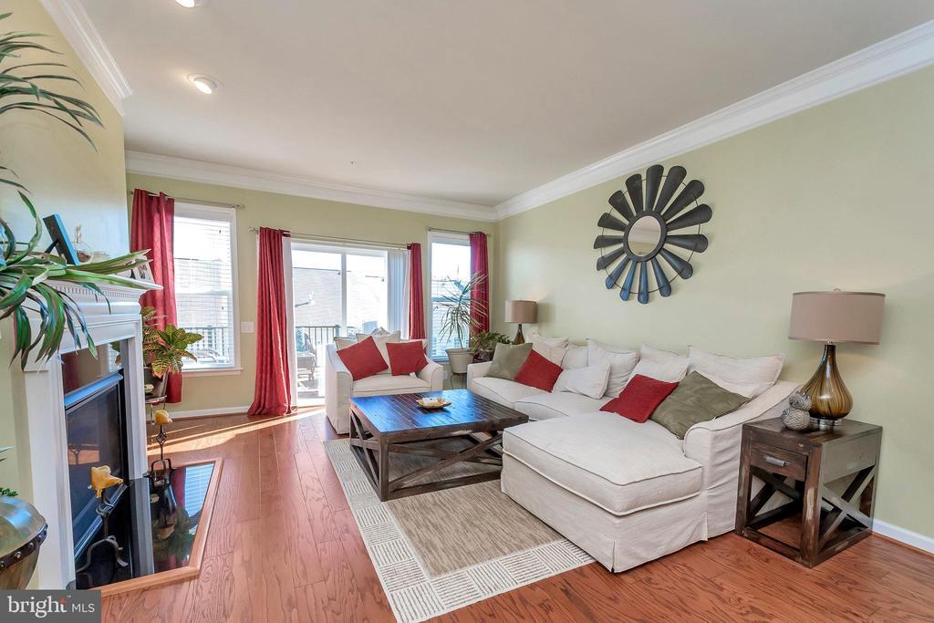 Living Room - 180 LONG POINT DR, FREDERICKSBURG