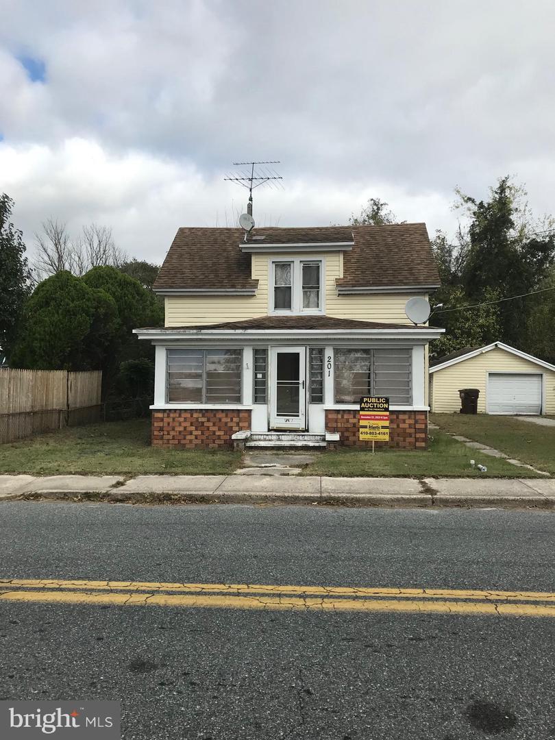 Single Family Homes 为 销售 在 Mardela Springs, 马里兰州 21837 美国