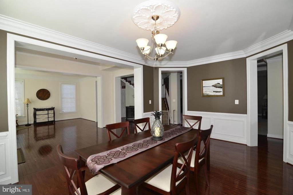 Formal Living & Dining Room(photo of similar home) - 9903 MOSBY RD, FAIRFAX