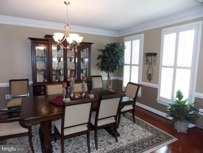 Large Dining Room (photo of similar home) - 9903 MOSBY RD, FAIRFAX