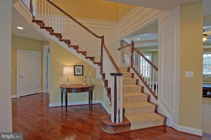 Dramatic Staircase (photo of similar home) - 9903 MOSBY RD, FAIRFAX