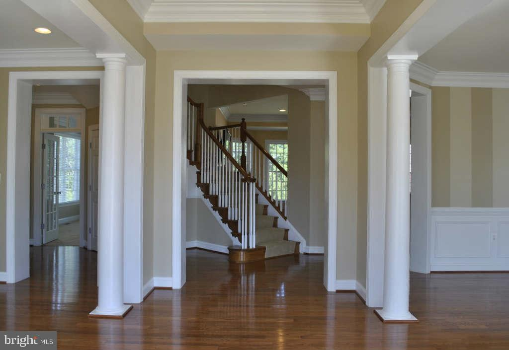Open Foyer (photo of similar home) - 9903 MOSBY RD, FAIRFAX