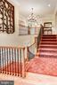 Staircase To Upper Level - 4830 CASTLEBRIDGE RD, ELLICOTT CITY