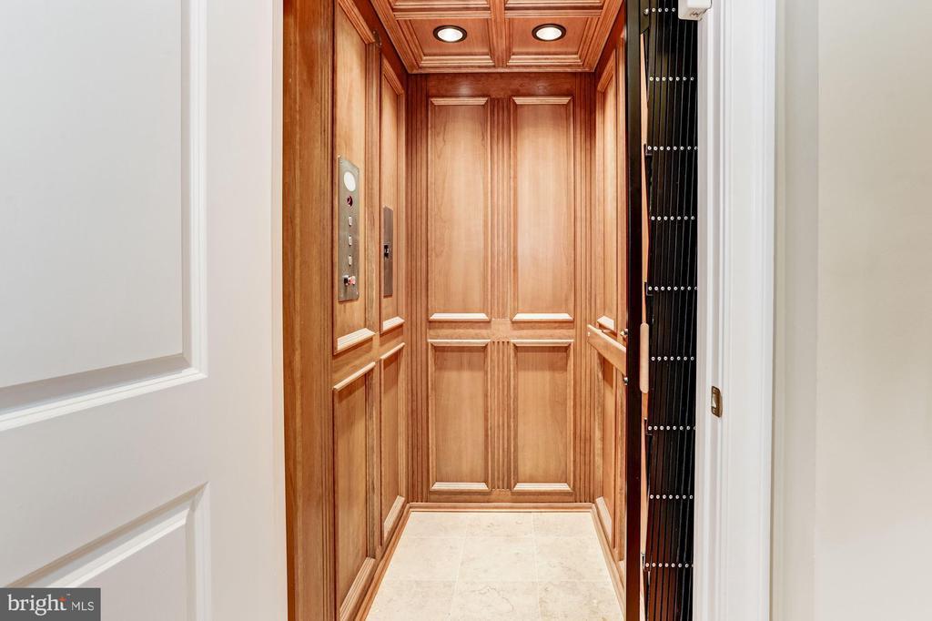 Elevator Access To All Levels - 4830 CASTLEBRIDGE RD, ELLICOTT CITY