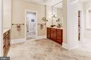 Master Bath With Access to Laundry - 4830 CASTLEBRIDGE RD, ELLICOTT CITY