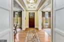 Extended Foyer - 4830 CASTLEBRIDGE RD, ELLICOTT CITY