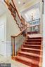 Staircase Open To Study - 4830 CASTLEBRIDGE RD, ELLICOTT CITY