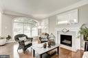 with Cozy Fireplace - 40720 HANNAH DR, WATERFORD