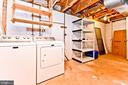 Storage/Utility/Laundry Room - 5663 CHELMSFORD CT, BURKE