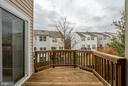 Enjoy the Fall Air on the Deck - 45576 TRESTLE TER, STERLING