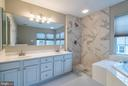 Luxury Master Bath Updated 2019 - 45576 TRESTLE TER, STERLING