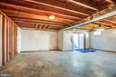 unfinished basement with walk out - 2272 BLUEBIRD LN, LOCUST GROVE