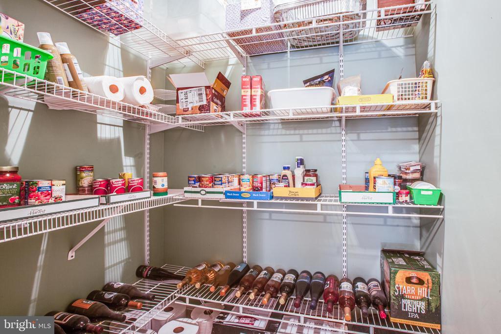 basement pantry/storage area - 2272 BLUEBIRD LN, LOCUST GROVE