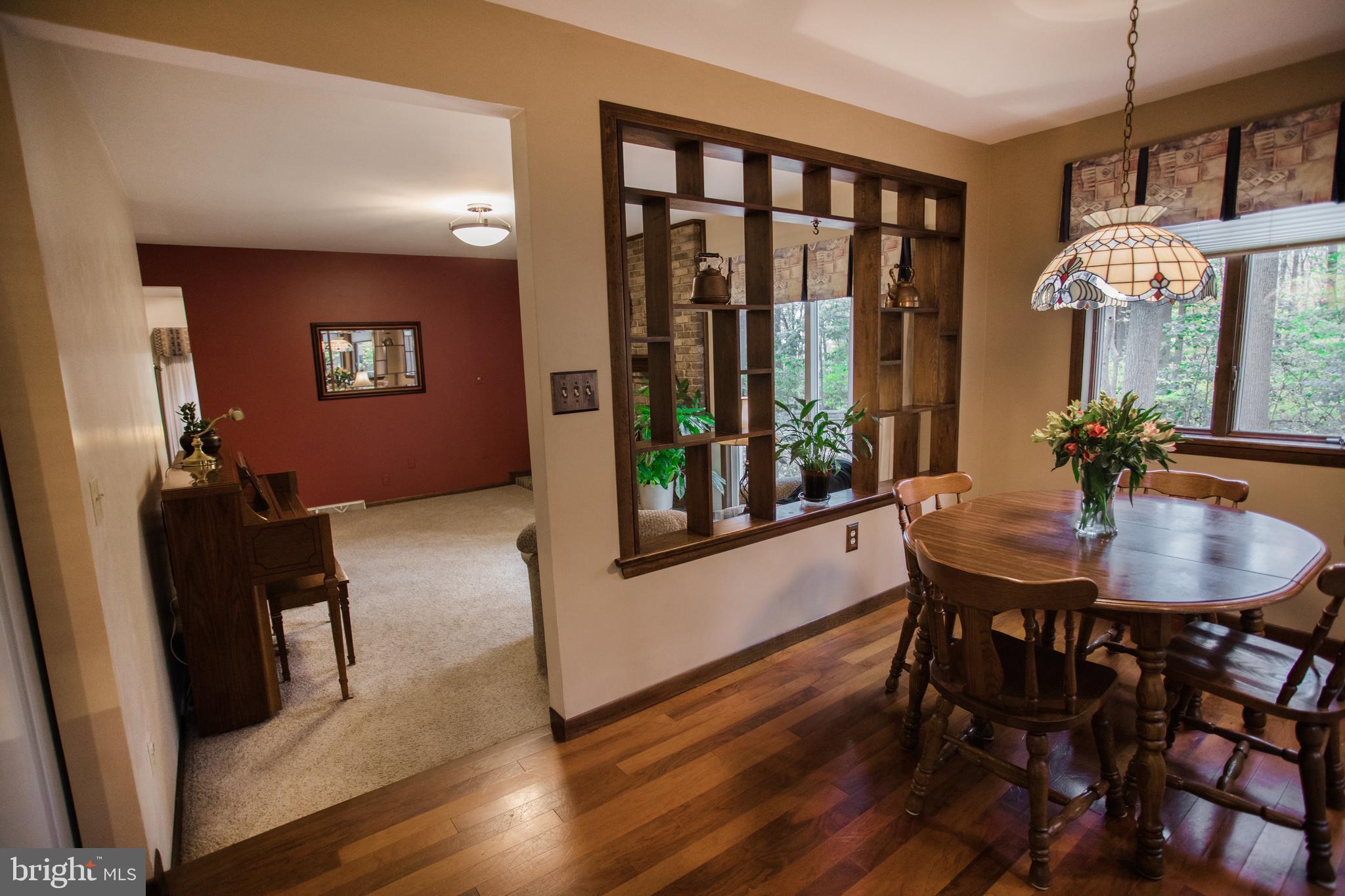 Breakfast area toward family room