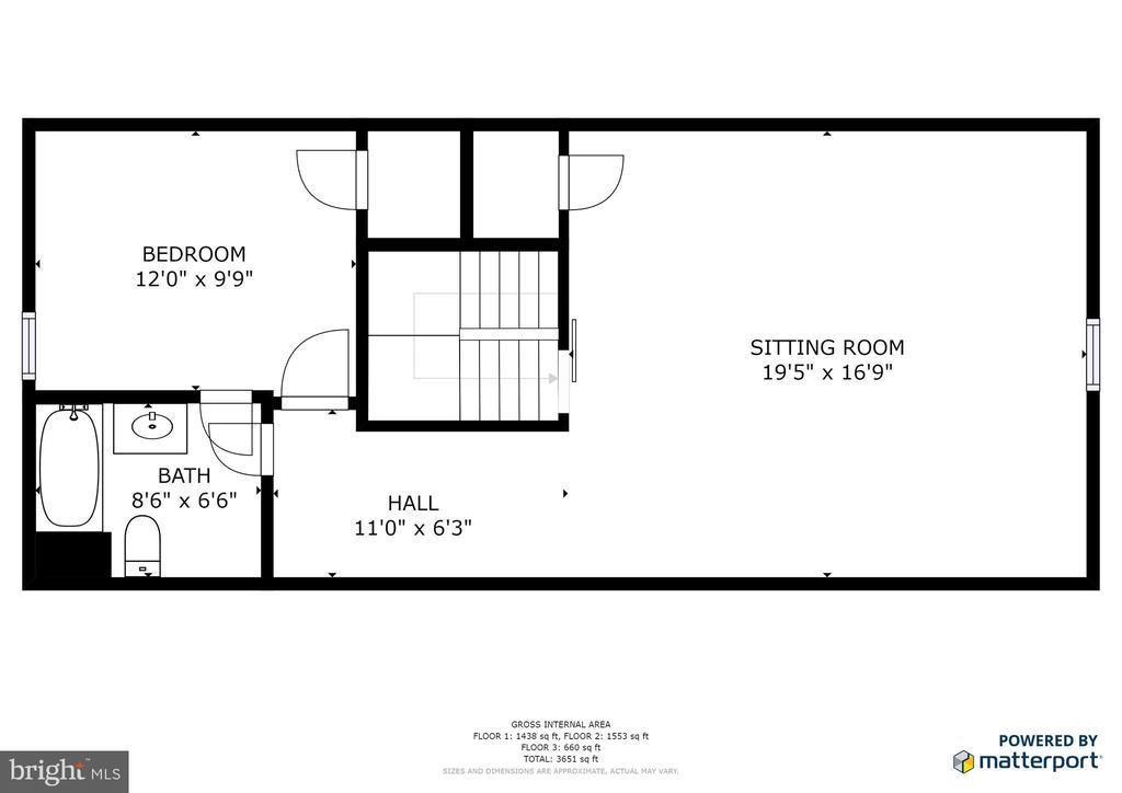 Upper level - 2272 BLUEBIRD LN, LOCUST GROVE