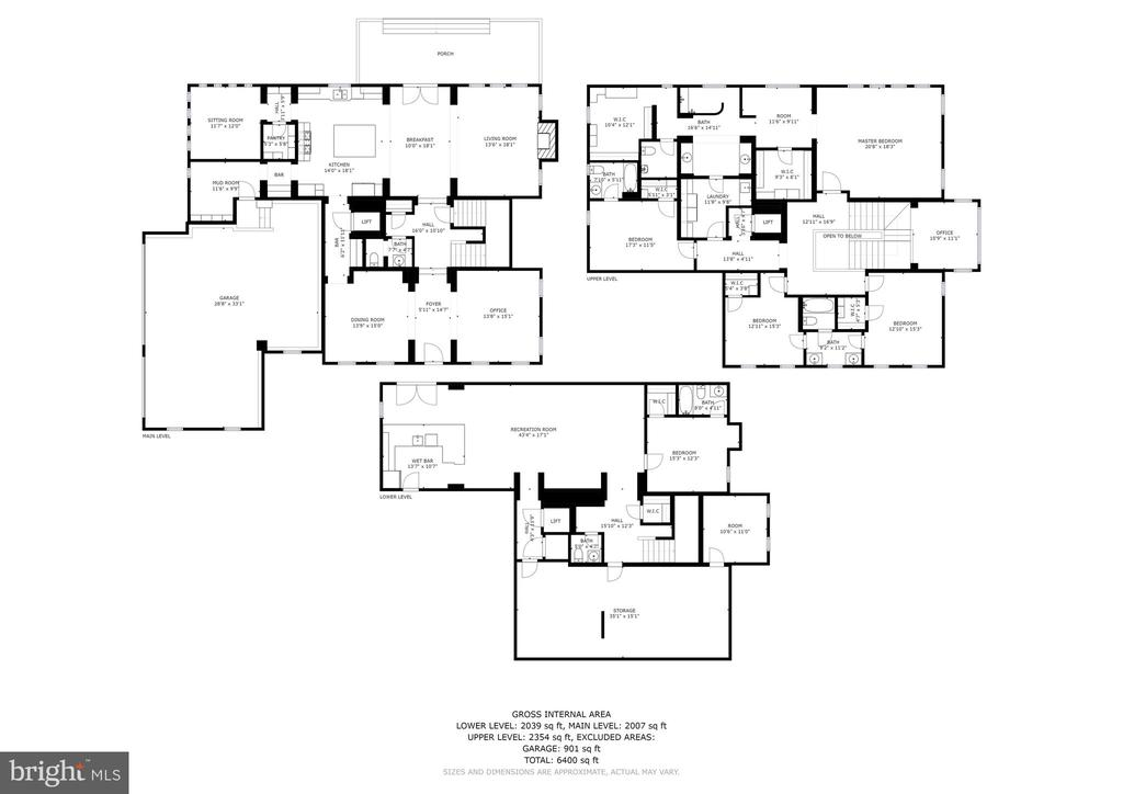 Floor Plans - 4830 CASTLEBRIDGE RD, ELLICOTT CITY