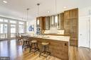 Gourmet, chef's kitchen - 5132 WILLET BRIDGE RD, BETHESDA