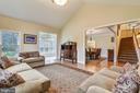 Living room off 2 story foyer - 10680 ALLIWELLS CT, OAKTON