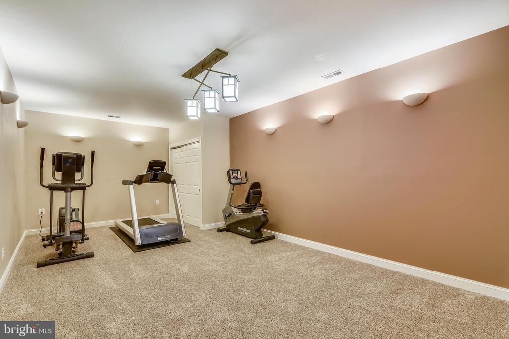 Home gym - 10680 ALLIWELLS CT, OAKTON