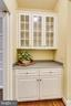 Butler's pantry - 10680 ALLIWELLS CT, OAKTON