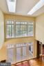 View from the upstairs landing - 10680 ALLIWELLS CT, OAKTON