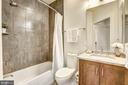 Hall bathroom - 5132 WILLET BRIDGE RD, BETHESDA