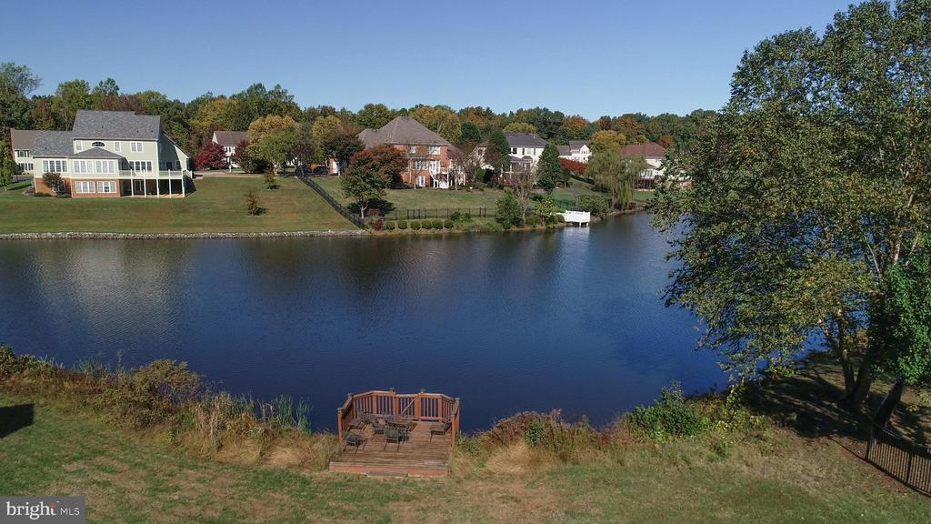 View of the water - 8410 W HILDY CT, SPOTSYLVANIA