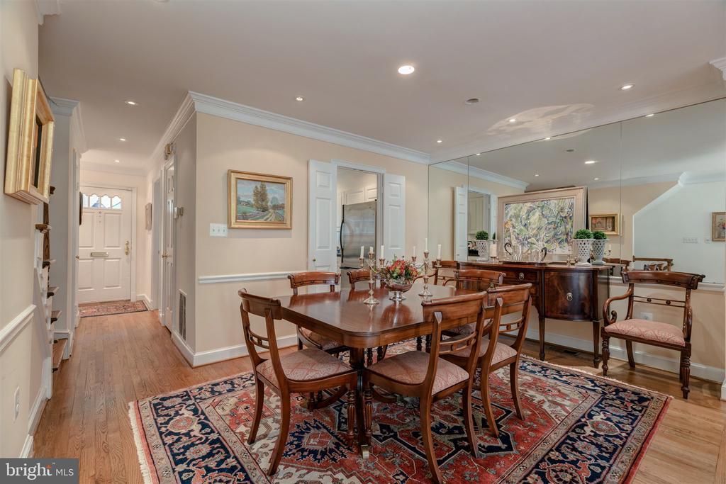 Gracious Dining Room - 4366 WESTOVER PL NW, WASHINGTON