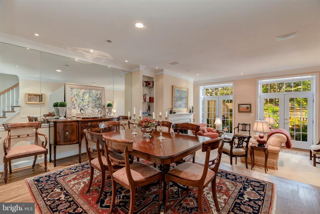 Dining Room / Living Room - 4366 WESTOVER PL NW, WASHINGTON
