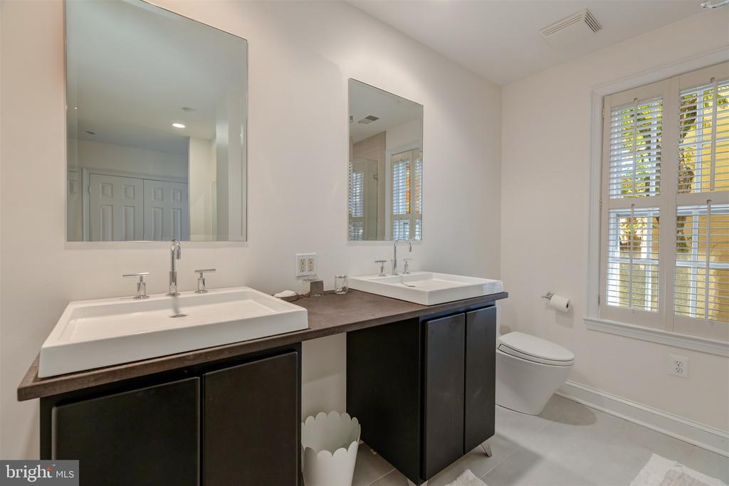 Fabulous Dressing Area and Bathroom - 4366 WESTOVER PL NW, WASHINGTON