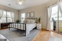 Master bedroom - 6549 GRANGE LN #401, ALEXANDRIA