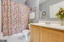 Second bathroom - 6549 GRANGE LN #401, ALEXANDRIA