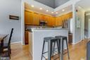 Inviting open concept living area - 6549 GRANGE LN #401, ALEXANDRIA